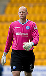 St Johnstone FC...Season 2011-12.Peter Enckelman.Picture by Graeme Hart..Copyright Perthshire Picture Agency.Tel: 01738 623350  Mobile: 07990 594431