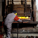 27/09/01 - THIERS - PUY DE DOME - FRANCE - Atelier de Forge. FORGINAL - Photo Jerome CHABANNE