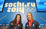 09/02/2014 - TeamGB Skeleton Press Conference - Gorki Media Centre - Sochi - Russia