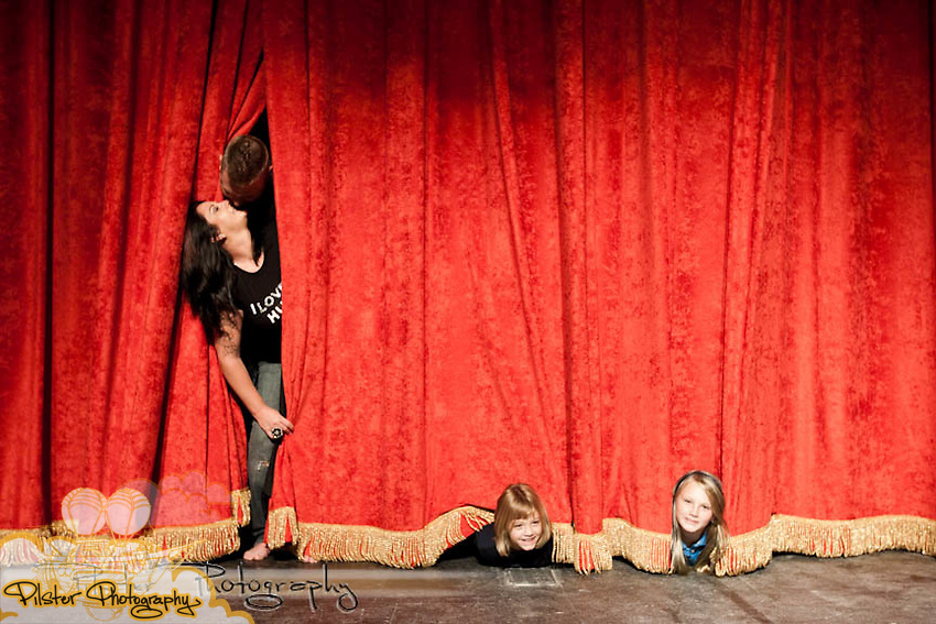 "Alex, Dana, Alexandra ""Alex"", and Lorelai Ellerby on Saturday, July 24, 2011, at the Athen's Theatre in DeLand, Florida. (Chad Pilster for Pilster Photography http://www.PilsterPhotography.net)"