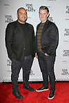 Designers Raul Arevalo (L) and Bradley Schmidt from Cadet, attend the 2016 Whitney Art Party, at The Whitney Museum of American Art on 99 Gansevoort Street in New York City, on November 15, 2016.