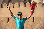 Miguel Angel Lopez Moreno (COL) Astana Pro Team wins Stage 5 of the 2018 Tour of Oman running 152km from Sam'il to Jabal Al Akhdhar. 17th February 2018.<br /> Picture: ASO/Muscat Municipality/Kare Dehlie Thorstad | Cyclefile<br /> <br /> <br /> All photos usage must carry mandatory copyright credit (&copy; Cyclefile | ASO/Muscat Municipality/Kare Dehlie Thorstad)