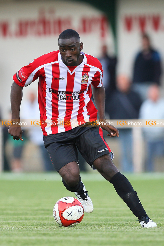 Tambeson Eyong of Hornchurch - AFC Hornchurch vs Hendon - Ryman League Premier Division Football at The Stadium - 18/09/10 - MANDATORY CREDIT: Gavin Ellis/TGSPHOTO - Self billing applies where appropriate - Tel: 0845 094 6026