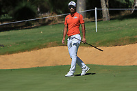 Yikeun Chang (KOR) in action on the 8th during Round 2 of the ISPS Handa World Super 6 Perth at Lake Karrinyup Country Club on the Friday 9th February 2018.<br /> Picture:  Thos Caffrey / www.golffile.ie<br /> <br /> All photo usage must carry mandatory copyright credit (&copy; Golffile   Thos Caffrey)