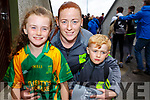 Veronica, Max and Nicole Deenihan supporting Kilmoyley at the County Hurling Finals in Austin Stack Park on Sunday.