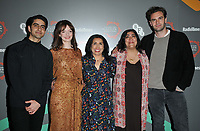 "Viveik Kaira, Dakota Blue Richards, Nina Nannar, Gurinder Chadha and Tom Bateman at the ""Beecham House"" BFI & Radio Times Television Festival screening & Q&A, BFI Southbank, Belvedere Road, London, England, UK, on Saturday 13th April 2019. <br /> CAP/CAN<br /> ©CAN/Capital Pictures"