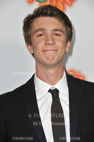 """Thomas Mann at the Los Angeles premiere of his new movie """"Fun Size"""" at the Paramount Theatre, Hollywood..October 25, 2012  Los Angeles, CA.Picture: Paul Smith / Featureflash"""