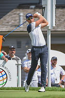Henrik Stenson (SWE) watches his tee shot on 17 during 2nd round of the World Golf Championships - Bridgestone Invitational, at the Firestone Country Club, Akron, Ohio. 8/3/2018.<br /> Picture: Golffile | Ken Murray<br /> <br /> <br /> All photo usage must carry mandatory copyright credit (&copy; Golffile | Ken Murray)