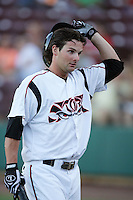 September 6 2009:   Andy Parrino of the Lake Elsinore Storm during game against the San Jose Giants at The Diamond in Lake Elsinore,CA.  Photo by Larry Goren/Four Seam Images