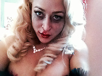 "Jennifer Blanc<br /> On The Set Of Blanc/Biehn Production's ""Fetish Factory,"" Private Location, Los Angeles, CA 05-11-14<br /> David Edwards/DailyCeleb.com 818-249-4998"
