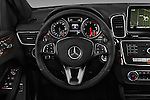 Car pictures of steering wheel view of a 2016 Mercedes Benz GLE-Class GLE300d 5 Door SUV Steering Wheel