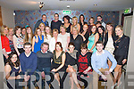 DOUBLE: What a night Gillian Fitzgerald (21st)_ and Karen Mckenna 30th from Lixnaw as they celebrated their 21s and 30th with family and friends in The Keg, Causeway on Saturday night. (Gillian 21 is seated 3rd from right) and `(Karen 30th 3rd from left)