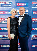Picture by Allan McKenzie/SWpix.com - 25/09/2018 - Rugby League - Betfred Championship & League 1 Awards Dinner 2018 - The Principal Manchester- Manchester, England - Red carpet, Danny Ward.