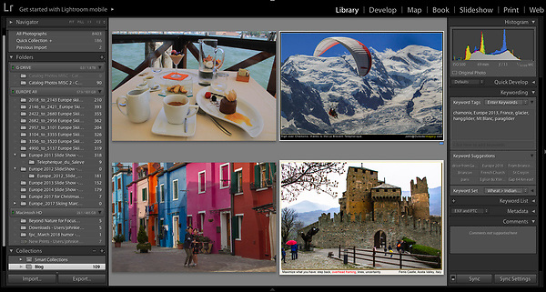 Italy. Lightroom Workshops.<br /> John has extensive experience using Lightroom and Photoshop software, teaches Photoshop and Lightroom workshops.