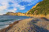 Cliffs along the Gulf of St. LAwrence<br /> Forillon Nationa lPark<br /> Quebec<br /> Canada