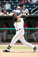 Chris Hatcher (36) of the Jacksonville Suns during a game vs. the Carolina Mudcats May 31 2010 at Baseball Grounds of Jacksonville in Jacksonville, Florida. Jacksonville won the game against Carolina by the score of 3-2. Photo By Scott Jontes/Four Seam Images