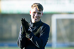 St Johnstone Training&hellip;.14.12.18    McDiarmid Park<br />Jason Kerr pictured during training this morning ahead of tomorrows game against Motherwell<br />Picture by Graeme Hart.<br />Copyright Perthshire Picture Agency<br />Tel: 01738 623350  Mobile: 07990 594431