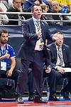 P.R. Cartagena coach Attos Cristhian during Futsal Spanish Cup 2018 at Wizink Center in Madrid , Spain. March 16, 2018. (ALTERPHOTOS/Borja B.Hojas)