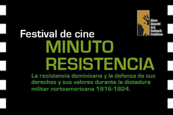 Banner del Festival de Cine Minuto Resistencia. FE
