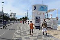 RIO DE JANEIRO-28/06/2012-CLIMA/TEMPO-Movimentacao na Praia de Ipanema, manha de sol nesta quinta-feira 28, em Ipanema, zona sul do Rio.Foto:Marcelo Fonseca-Brazil Photo Press