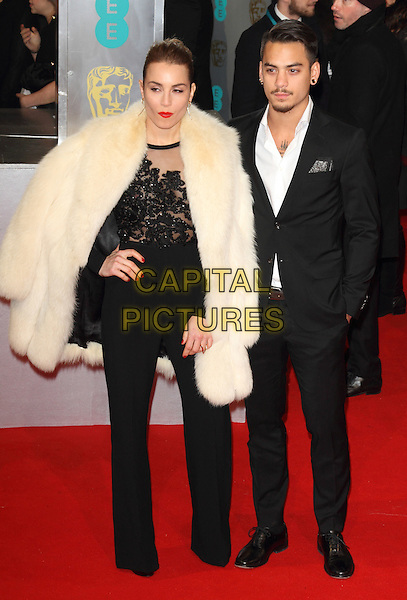 LONDON, ENGLAND - FEBRUARY 08: Noomi Rapace attends the EE British Academy Film Awards at The Royal Opera House on February 8, 2015 in London, England<br /> CAP/ROS<br /> &copy;Steve Ross/Capital Pictures