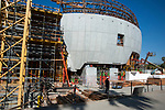 Construcion is underway on the Academy Museum of Motion Pictures, estimated for comletion in 2019 in Los Angeles, CA