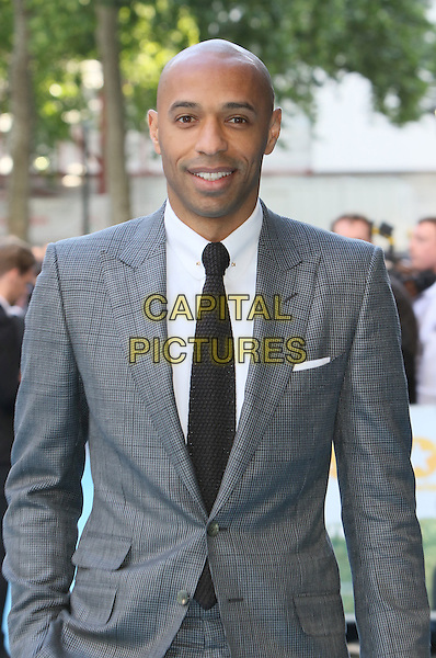 LONDON, ENGLAND - Thierry Henry at the 'Entourage' European Premiere at the Vue West End, Leicester Square, on June 9th 2015 in London, England<br /> CAP/ROS<br /> &copy;Steve Ross/Capital Pictures