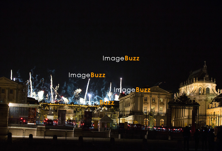 Fireworks In Versailles While The Kardashian S Family And Guests
