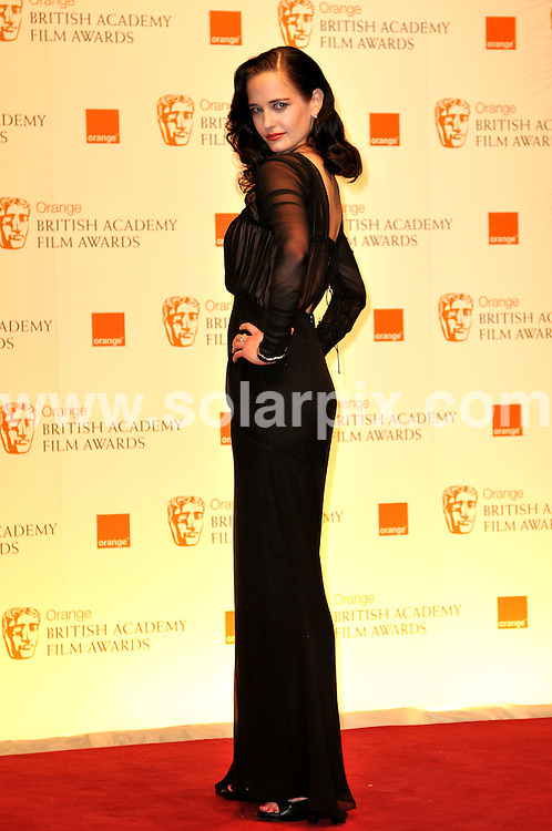 **ALL ROUND PICTURES FROM SOLARPIX.COM**                                             **WORLDWIDE SYNDICATION RIGHTS**                                                                                  Arrivals to the Orange British Academy Film Awards held at The Royal Opera House, London, UK. February 13, 2011                                                                            .This pic:   Eva Green                                                                                JOB REF:    12796    MSR       DATE:    13.02.11                                                        **MUST CREDIT SOLARPIX.COM OR DOUBLE FEE WILL BE CHARGED**                                                                      **MUST AGREE FEE BEFORE ONLINE USAGE**                               **CALL US ON: +34 952 811 768 or LOW RATE FROM UK 0844 617 7637**