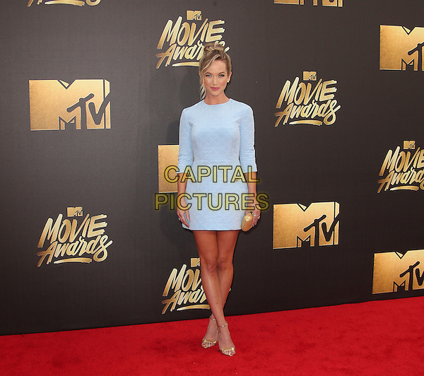 09 April 2016 - Burbank, California - Kelley Jakle. 2016 MTV Movie Awards held at Warner Bros. Studios. <br /> CAP/ADM/SAM<br /> &copy;SAM/ADM/Capital Pictures