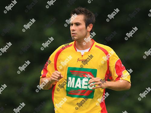 2010-08-07 / Voetbal / seizoen 2010-2011 / KSV Bornem / Stijn de Wilde..Foto: mpics