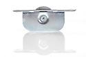"Brass Ball Bearing Sash Pulleys 1 3/4"" : Satin Chrome Profile"