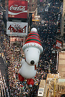 New York, U.S.A, 24th, November, 1988. Snoopy seen at the famous Macy's Thanksgiving Parade.