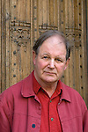 Michael Morpurgo, author of War Horse, in front of the Divinity School during the FT Weekend Oxford Literary Festival, Oxford, UK. Sunday 30 March 2014.<br /> <br /> PHOTO COPYRIGHT Graham Harrison<br /> graham@grahamharrison.com<br /> <br /> Moral rights asserted.