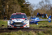 10th February 2019, Galway, Ireland; Galway International Rally; Stephen Wright and Arthur Kierans (Ford Fiesta R5) finished in 9th place