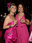 Nicola Conolly Byrne and Bairbre Kelly who organized the 'Pink & Bling' in aid of breast cancer awareness at the Black Bull. Photo:Colin Bell/pressphotos.ie