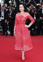 "Dita Von Teese attends the "" Behind The Candelabra ""  Premiere during The 66th Cannes Film Festival"