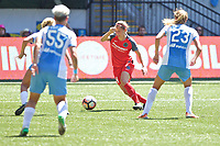 Portland, OR - Saturday August 05, 2017: Ashleigh Sykes during a regular season National Women's Soccer League (NWSL) match between the Portland Thorns FC and the Houston Dash at Providence Park.