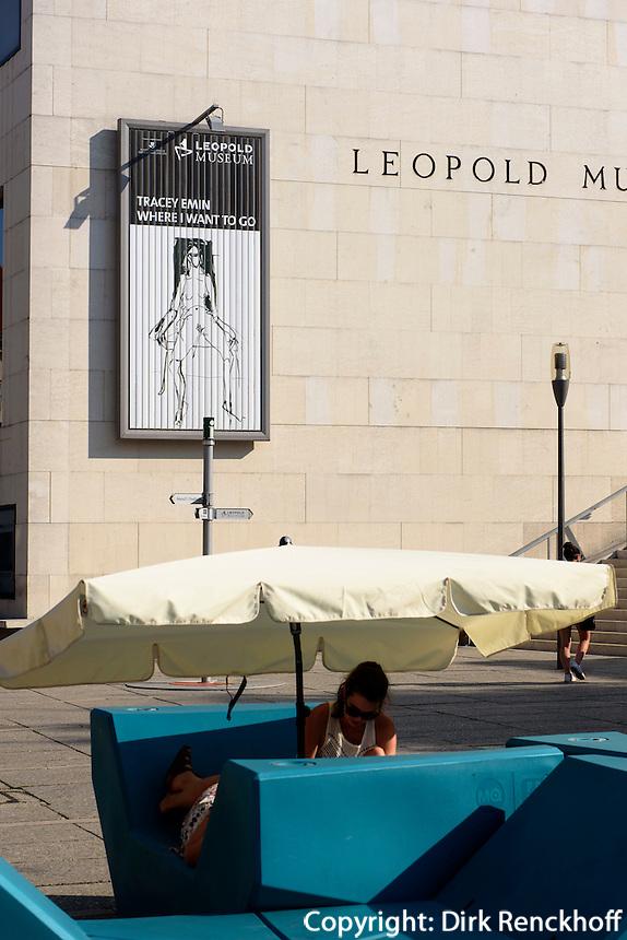 Leopoldmuseum im Museumsquarier, Wien, &Ouml;sterreich<br /> Leopoldmuseum in the Museum Quarter, Vienna, Austria