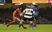 Wales Leigh Halfpenny during the game<br /> <br /> Photographer Ian Cook/CameraSport<br /> <br /> 2019 Autumn Internationals - Wales v Barbarians - Saturday 30th November 2019 - Principality Stadium - Cardifff<br /> <br /> World Copyright © 2019 CameraSport. All rights reserved. 43 Linden Ave. Countesthorpe. Leicester. England. LE8 5PG - Tel: +44 (0) 116 277 4147 - admin@camerasport.com - www.camerasport.com