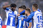 CD Leganes's  Oscar Rodriguez Arnaiz, Youssef En-Nesyri, Chidozie Awaziem and Jose Luis Garcia Recio during La Liga match 2019/2020 round 16<br /> December 8, 2019. <br /> (ALTERPHOTOS/David Jar)