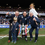Ally McCoist, Kenny McDowall and Ian Durrant