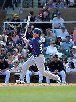 Jeren Kendall - Los Angeles Dodgers 2020 spring training (Bill Mitchell)