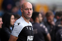 Temporary Millwall Manager, Adam Barrett during Millwall vs Leeds United, Sky Bet EFL Championship Football at The Den on 5th October 2019