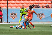Houston, TX - Saturday May 13, Houston Dash forward Nichelle Prince (14) during a regular season National Women's Soccer League (NWSL) match between the Houston Dash and Sky Blue FC at BBVA Compass Stadium. Sky Blue won the game 3-1.