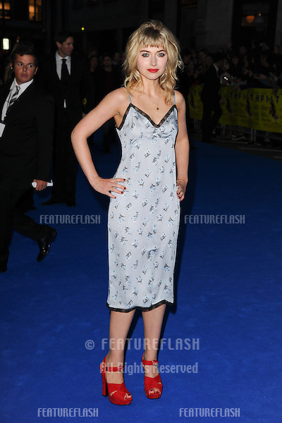 "Imogen Poots arriving for the ""Filth"" premiere at the Odeon Leicester Square, London. 30/09/2013 Picture by: Steve Vas / Featureflash"