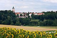 Germany, Upper Bavaria, hop-planting area Hallertau (Holledau), Scheyern: Benedictine monastery Scheyern | Deutschland, Bayern, Oberbayern, Hopfenanbaugebiet Hallertau (Holledau), Scheyern: Benediktinerkloster Scheyern