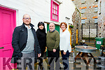 Pictured at  Maddens Creative Hub, Milk Market Lane last Friday, January 25th, are members of the Kerry Film Festival in which 2 short films they screened  in the 2018 Festival have been nominated for Oscars shortly, L-R Sean Mulchinock, KY Film Club, Rebecca Wall (Hub proprietor) James Finnigan, Film Club Secretary and Grace O'Donnell, Chairperson of the  Kerry Film Festival Board.