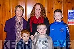 Catriona and Daniel Cotter with Noreen, Joe and Neil O'Connor Knocknagree at the Marian Players Babes in the Woods Panto in Rathmore Community Hall on Saturday night