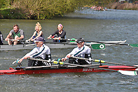 Abingdon Rowing Club Spring Head 2012. 2,000m upstream from Culham cut to Abingdon. Sunday 15 April 2012.